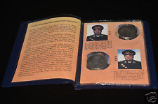 China Collection precious  Chinese Ten Marshals coin/ Watch List book