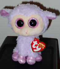 """Ty Beanie Boo's ~ ORCHID the 6"""" Easter Lamb ~ NEW 2016 ~ MWMT'S ~ Exclusive"""