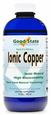 Liquid Ionic Minerals Copper (96 Servings At 2mg. Each)