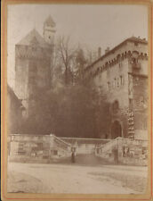 73 CHAMBERY PHOTO GRAND FORMAT CHATEAU VERS 1850