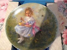 1981 Little Miss Muffet Collector's Plate by John McClelland Mother Goose Series