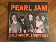 PEARL JAM - Hollywood Palladium 1991 LP new SEALED FM BROADCAST NIRVANA MUDHONEY