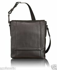 TUMI Padua Map/Messenger Bag 68603 (Brown/Manbag/Shoulder/Crossbody/iPad/Tablet)