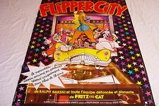 FLIPPER CITY ! ralph bakshi affiche cinema vintage 1973