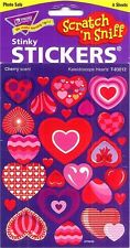 TREND Kaleidoscope Hearts (CHERRY) Scratch and Sniff reward Stickers n'
