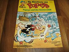 Abenteuer von POPEYE   # 12 -- das Geisterschiff  / Ehapa 1. Auflage 1980