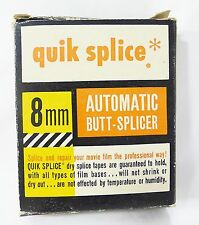 Hudson photographic quik splice 8mm automatic butt splicer