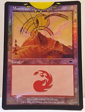 Foil Mountain Guru Style MTG Magic Altered Art Custom Hand Painted Hot Sexy Pimp