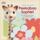 Vulli SOPHIE THE GIRAFFE PEEKABOO TOUCH AND FEEL BOOK Early Reading Gift BN