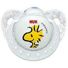 NUK Snoopy Peanuts Limited Edition Baby Pacifier 6-18 M Silicone White 0358-2