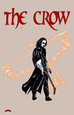The Crow Brandon Lee Eric Draven movie comics art 11x17 signed print Dan DeMille