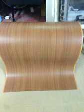 10 Meters X 65cm MAHOGANY WOOD CHERRY BROWN PAPER FILM FOIL, WATERPROOF
