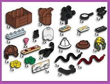 Lego #5381 Adventurers Accessories Service Pack  (27 pieces) MISP 1995