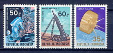 Raumfahrt, Space - Indonesien - 707-709 ** MNH 1972