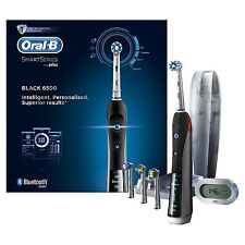 BRAUN Oral-B 6500 Black PRO Smart Series BLUETOOTH Electric Toothbrush *NEW*