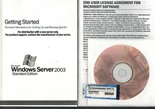 MS Windows Server 2003 Standard OEM Vollversion englisch neu 32Bit