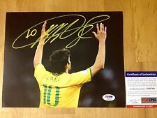Ricardo Kaka Signed 8x10 Photo Brazil Soccer Futbol PSA/DNA Coa
