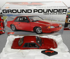 1989 Ford Mustang LX Ground Pounder GMP 1:18 Diecast (Car & Box Only)