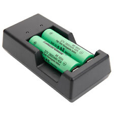 2pcs 3.7V 2800mAh 40A 18650 Rechargeable Flat Top Batteries with usb charger
