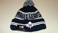 Toronto Maple Leafs Cap Hat NHL Hockey New Era Beanie Toque OSFM The Coach Pom
