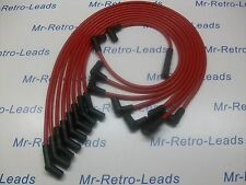 RED 8MM PERFORMANCE IGNITION LEADS CHEVROLET / CHEVY BIG BLOCK 454 HEI QUALITY.