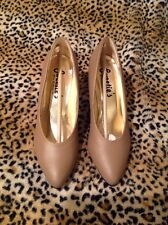 "Women's Sweetie's Taupe/Nude ""Nikki"" Pumps Pageant ~ Size 6 1/2"