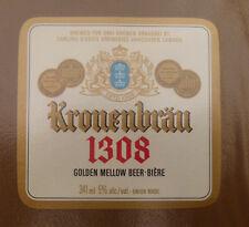 VINTAGE CANADIAN BEER LABEL - CARLING O'KEEFE BREWERY, KRONENBRAU 1308 BEER