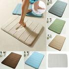 Memory Foam Bath Mat Absorbent Slip-resistant Pad Bathroom Kitchen Mats 40*60cm
