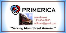Primerica Banner Trade Show Events 2'x4' w/ grommets Customize with YOUR Info!
