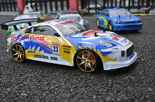 NISSAN 350Z STILE 4WD DRIFT Radio Remote Control CAR RC Drift Car in Scala 1:10