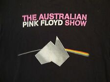 The Australian Pink Floyd Show Tribute Band Dark Side of the Moon T Shirt M