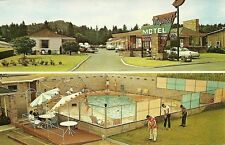 "Portland OR ""The Maywood Motel""  Postcard   Oregon   *FREE U.S. Shipping*"