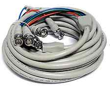 4 BNC to 4 BNC RGBS High Resolution Video Cable - 25ft