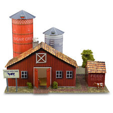 1:43 Scale Sugar Creek Farm Photo Real Building Kit Diorama Model Layout Sets