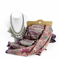 Jewellery Bundle Spring Moroccan Style Scarf And Necklace Set For Women