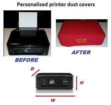 printer dust cover, personalised hand made-epson,canon,samsung,brother,