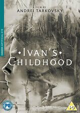 IVAN'S CHILDHOOD L'Infanzia di Ivan di A.Tarkovsky (1962) DVD in Russo NEW.cp
