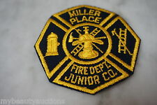 Miller Place Fire Department Patches. Junior Co. Long Island, New York. NEW.