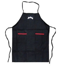 Jim Beam Classic Heavy Kitchen or Outdoor Grilling BBQ Apron Black with Pockets