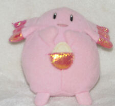 Pokemon Battle Go Chansey Plush Figure Applause Stuffed Bean Bag Toy Doll Pink