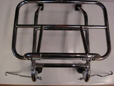 Vespa PX PE Lambretta Front Folding Carrier Chrome - long legs