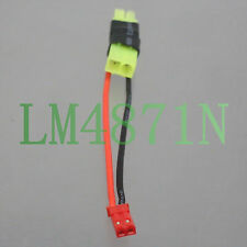 mini Tamiya M/F Connector Adapter JST male in-line RC Lipo battery FPV LED Light