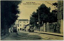 Cartolina Formato Piccolo - Forte Dei Marmi - Piazza Marconi E Stazione Tram