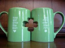 Perfect Pairs Mugs Set of 2 Bless Your Little Irish Heart & Every Other Irish