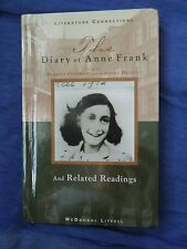 The Diary of Anne Frank & Related Readings Play by Goodrich & Hackett HARDCOVER