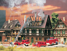Vollmer N Scale 7738 House on Fire Burning NEW USA DEALER! FREE SHIPPING! N N N