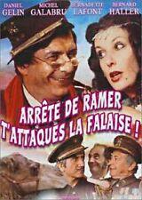 """DVD neuf sous blister """"ARRETE DE RAMER T'ATTAQUE LA FALAISE!"""""""