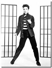ELVIS PRESLEY JAILHOUSE ROCK QUALITY CANVAS ART PRINT- Poster A4