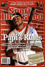 David Ortiz Sports Illustrated Autograph Poster