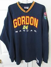 NASCAR Jeff Gordon #24 Blue Pullover Sweatshirt XL by Chase EUC